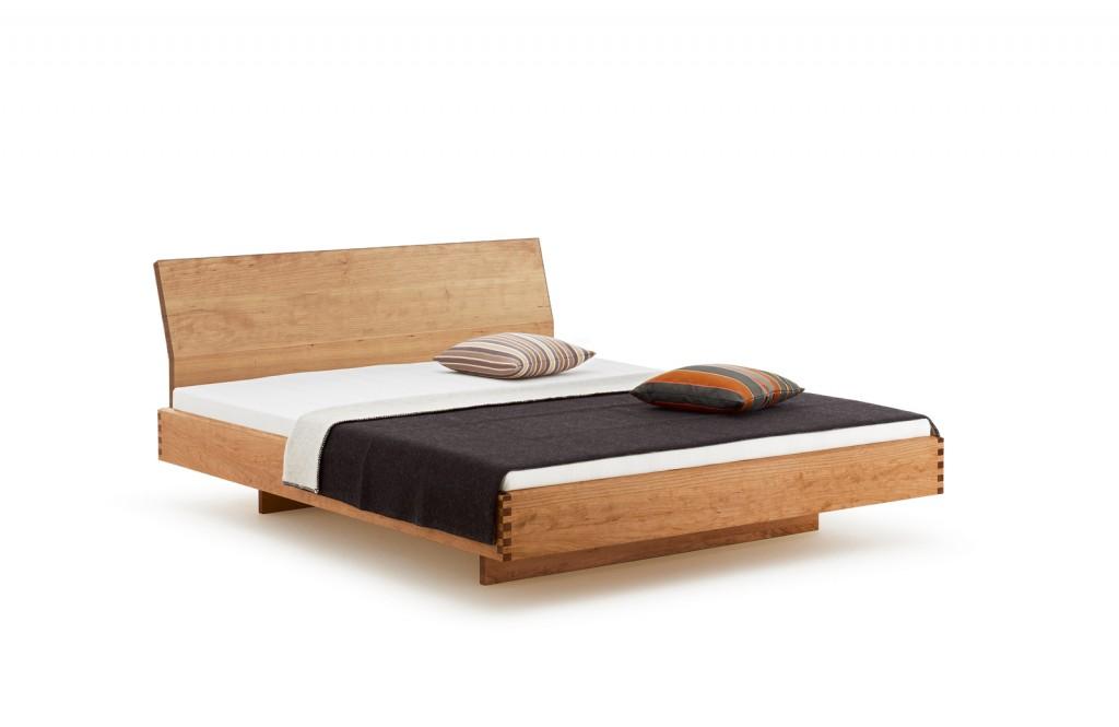 Holzmanufaktur Massivholzbett STEP-X