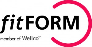 Logo Fitform [member of Wellco] CMYK