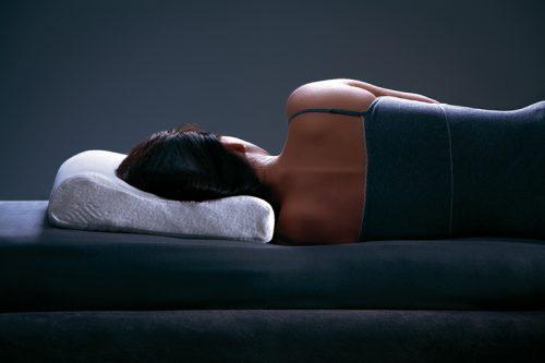 dormiente Schlafposition Formkissen Seitenlage