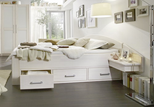 betten mit stauraum betten kraft. Black Bedroom Furniture Sets. Home Design Ideas