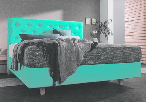 polsterbetten betten kraft. Black Bedroom Furniture Sets. Home Design Ideas