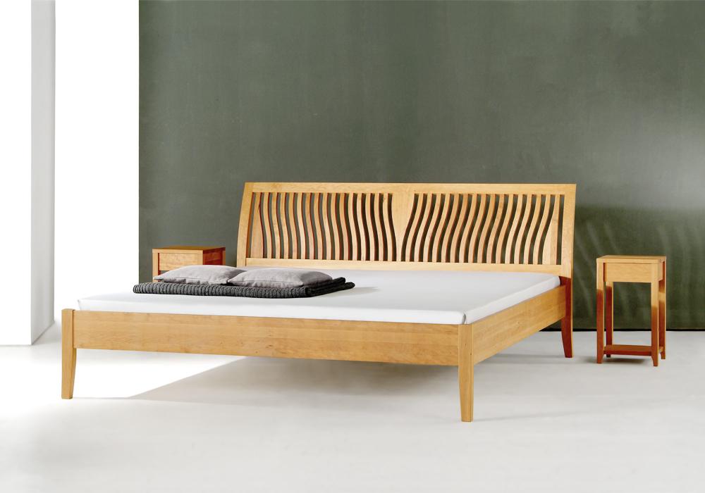 Massivholz Bett Latest Woodson Von Ars Manufacti Akazie