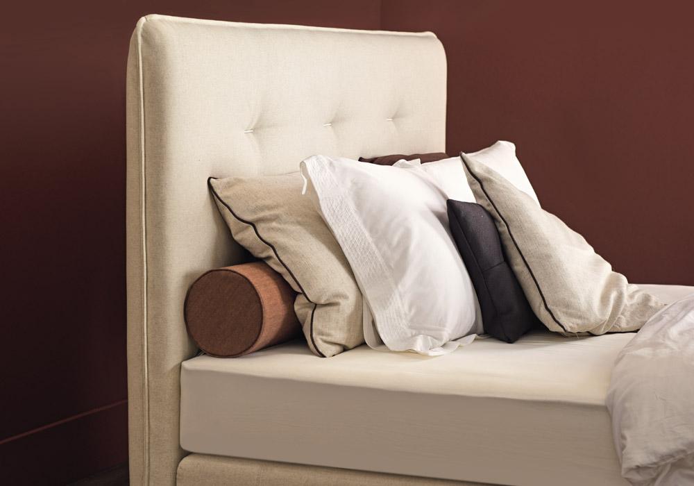 auping boxspringbett criade kopfteil cushion betten kraft. Black Bedroom Furniture Sets. Home Design Ideas