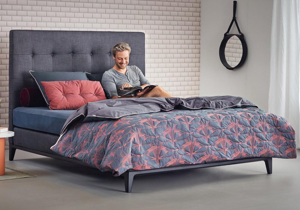 Auping Boxspringbett Criade Kopfteil Cushion Betten Kraft
