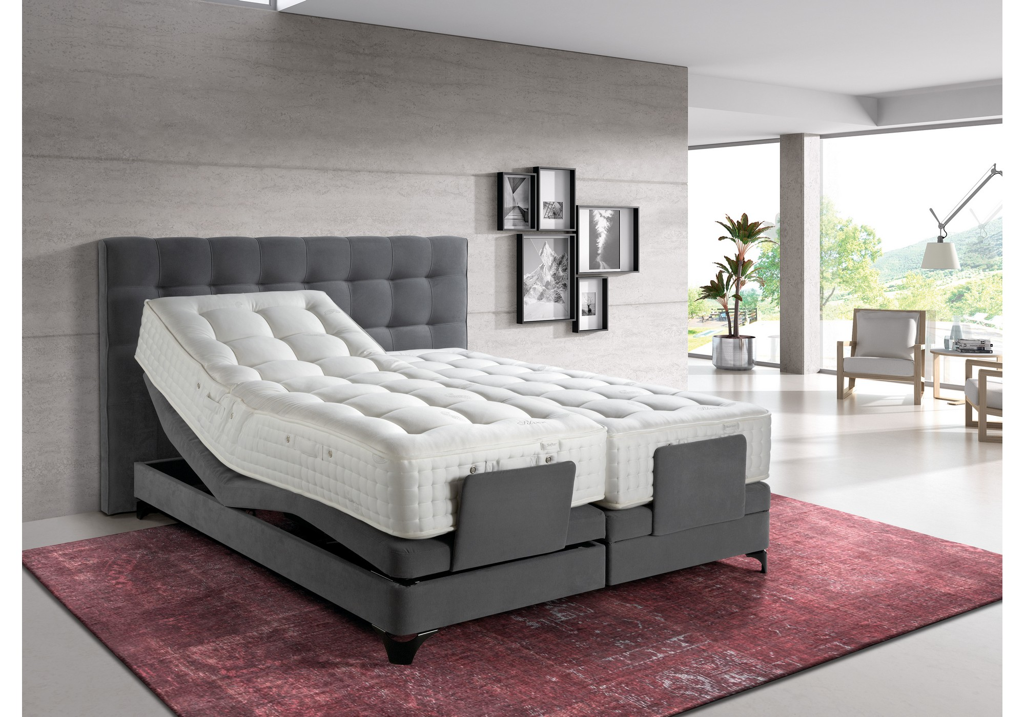 fylds 39 boxspringbett bonneville betten kraft. Black Bedroom Furniture Sets. Home Design Ideas