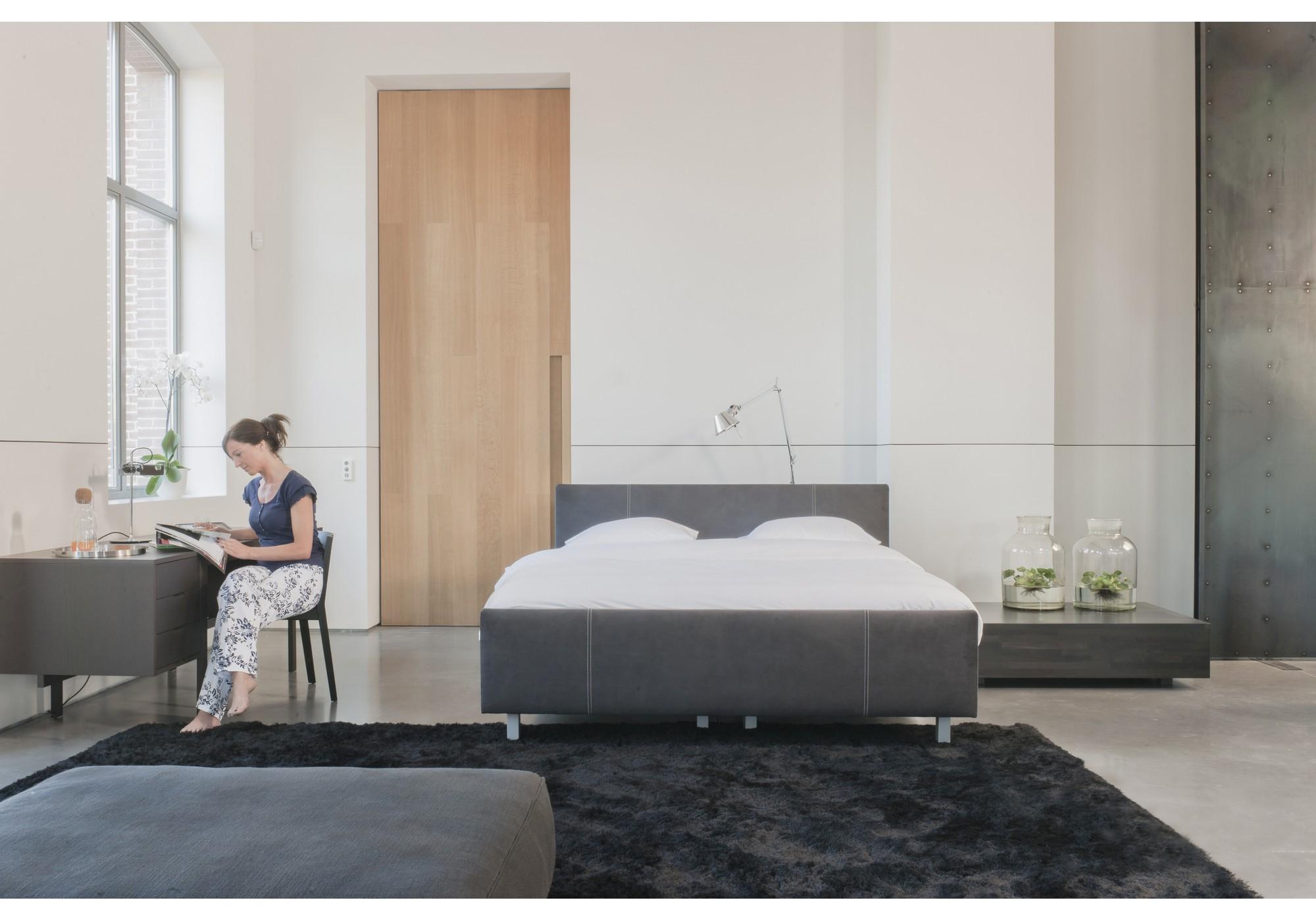 kreamat boxspringbett mit kopfteil penola betten kraft. Black Bedroom Furniture Sets. Home Design Ideas
