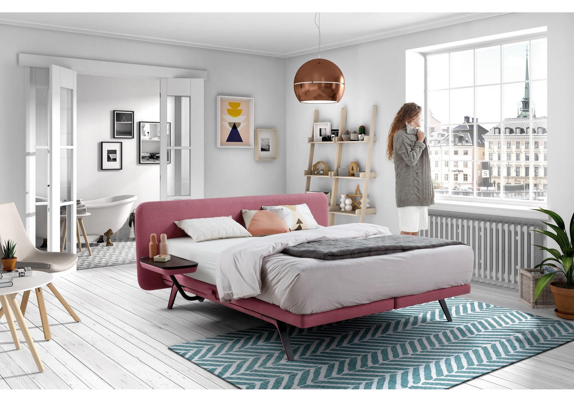 velda boxspringbett finesse betten kraft. Black Bedroom Furniture Sets. Home Design Ideas