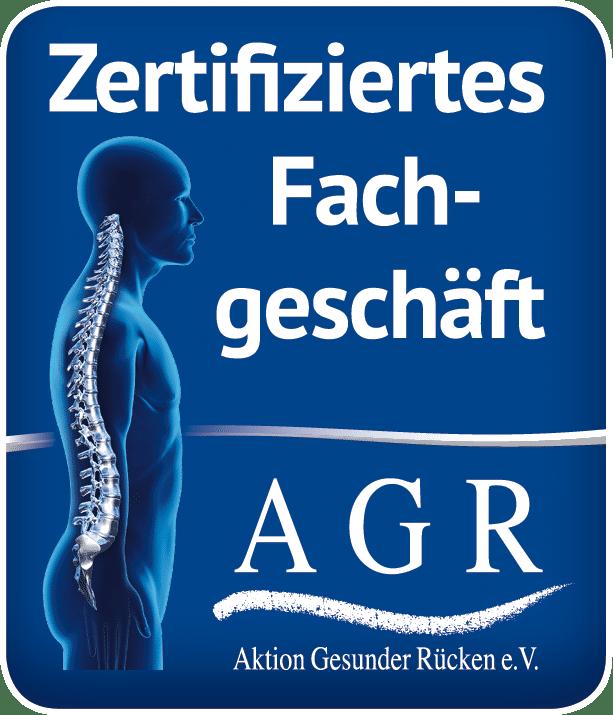 AGR Zertifiziertes Fachgeschäft