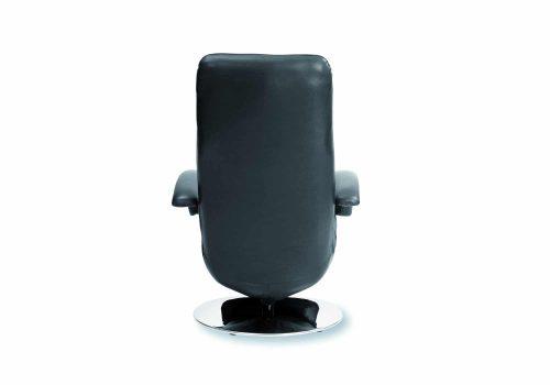 Strässle Relaxsessel Daniel black von hinten