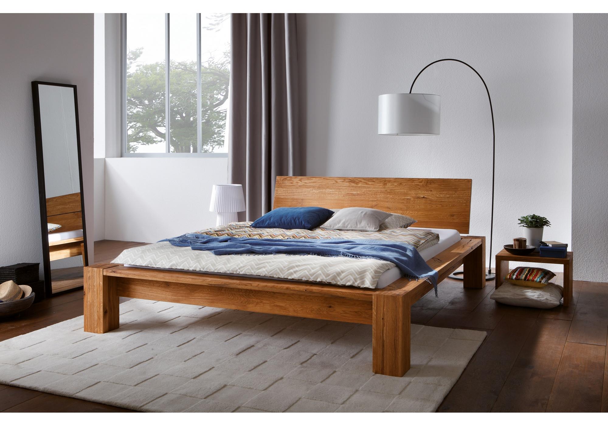 hasena oak wildeiche massivholzbetten betten kraft. Black Bedroom Furniture Sets. Home Design Ideas