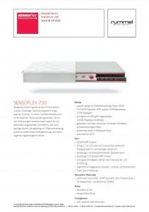 SENSOflex 700 2018 Datenblatt Screenshot