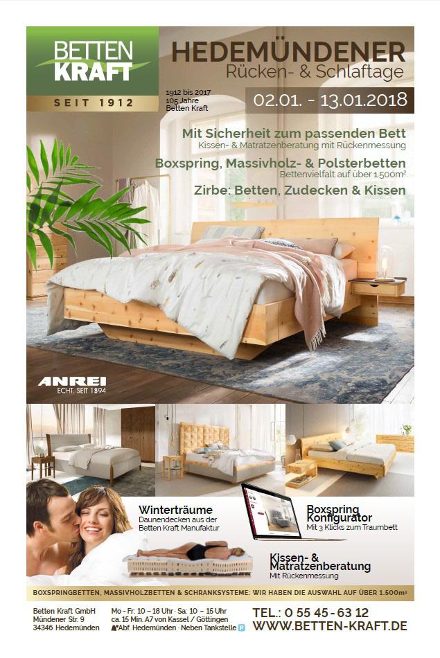 Betten Kraft Beileger-Titel 01-2018