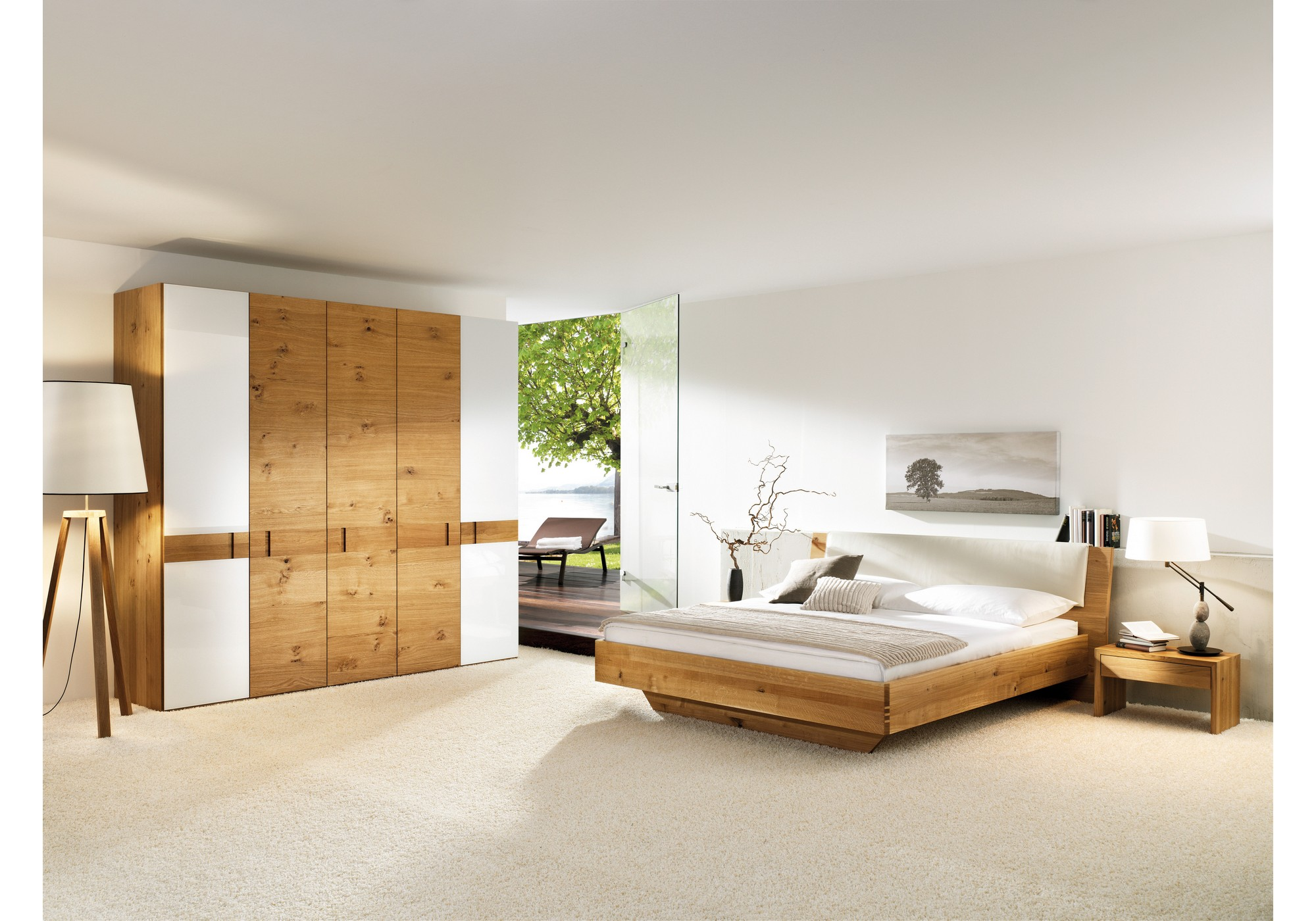 anrei massivholzbett aus zirbenholz rio betten kraft. Black Bedroom Furniture Sets. Home Design Ideas