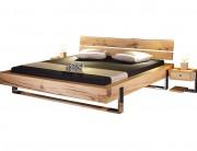 Kufen-Balken-Bett