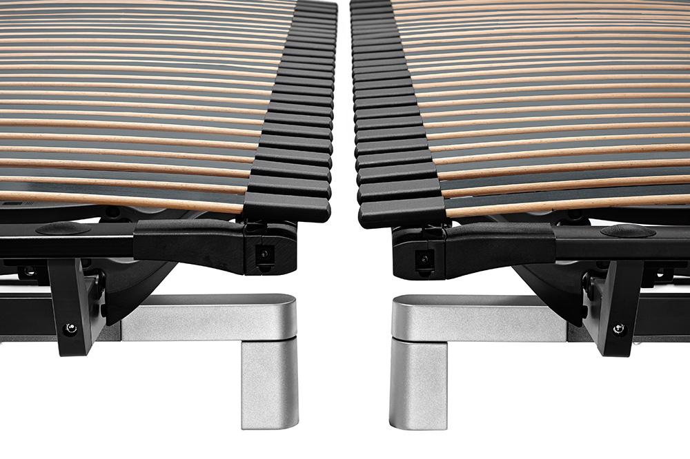 Swissflex uni 22 bridge - 100 Prozent Liegefläche