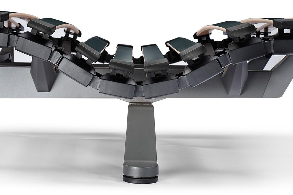 Swissflex uni 22 bridge - Schulterkomfortzone
