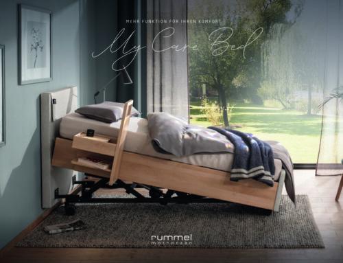 Rummel MY CARE BED – Seniorenbetten höhenverstellbar