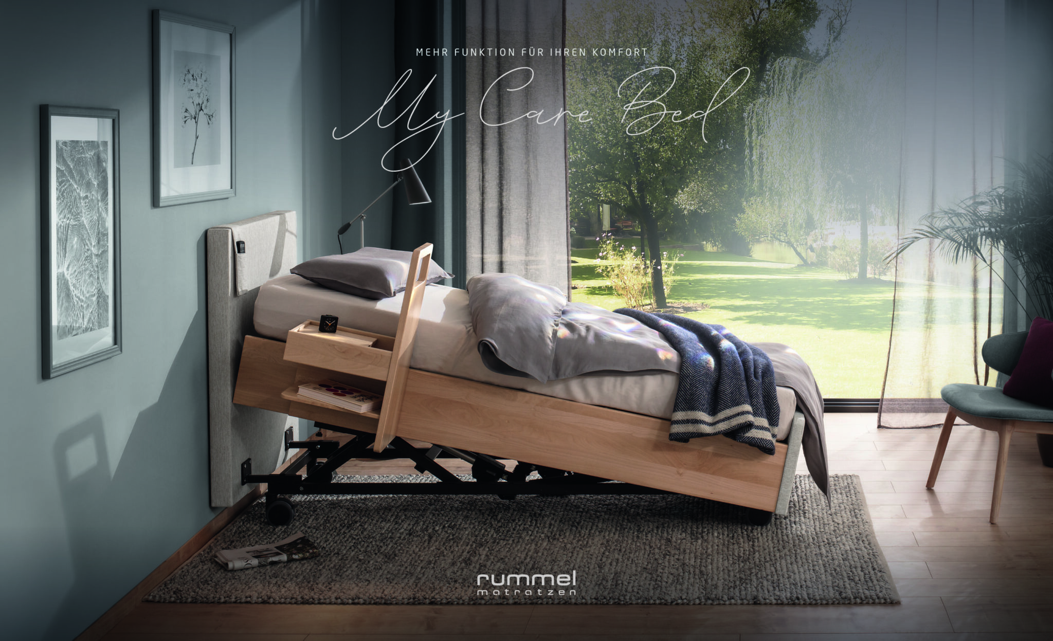 Rummel MY CARE BED Seniorenbett