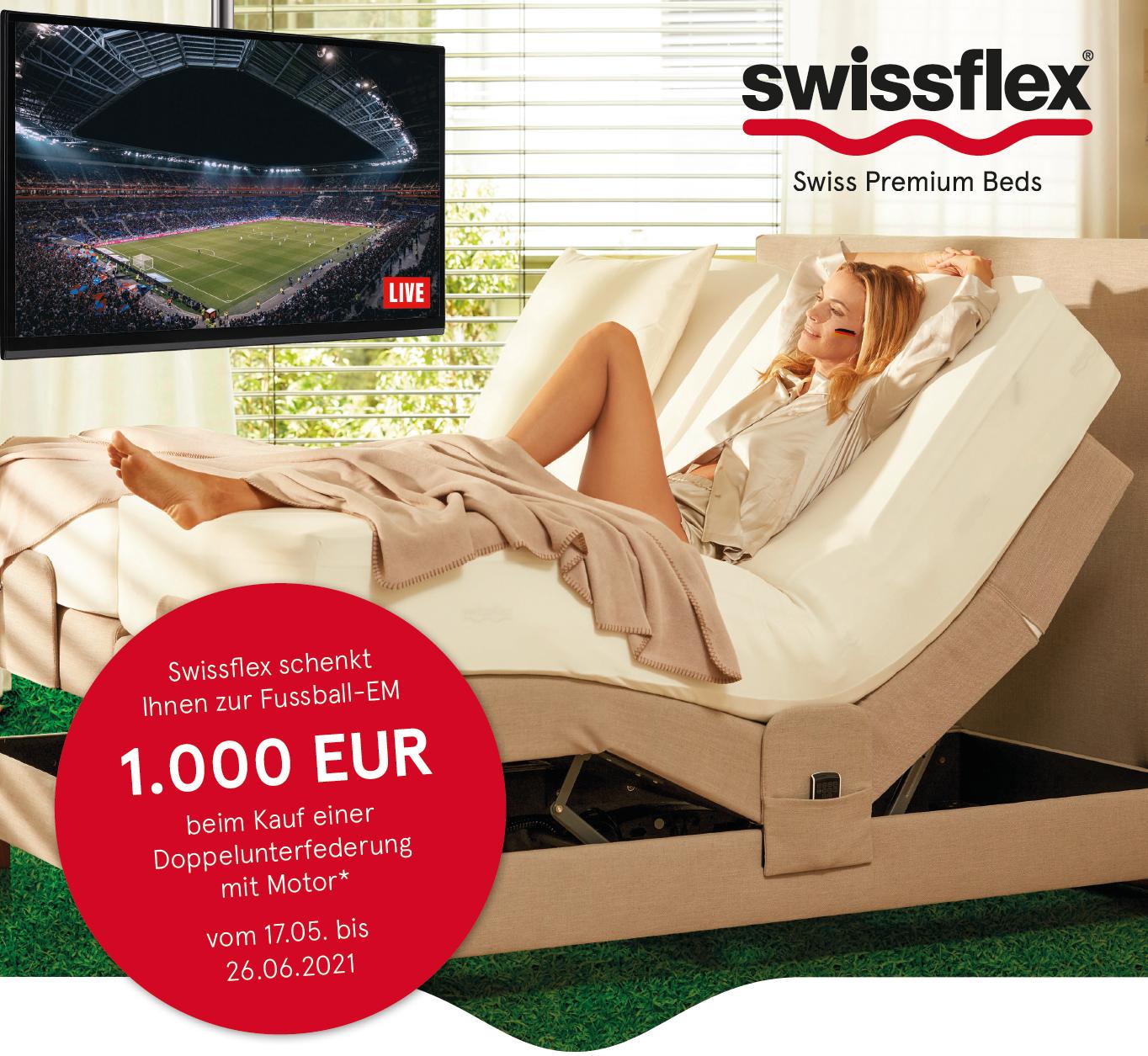 Swissflex schenkt Ihnen zur Fussball-EM 2021