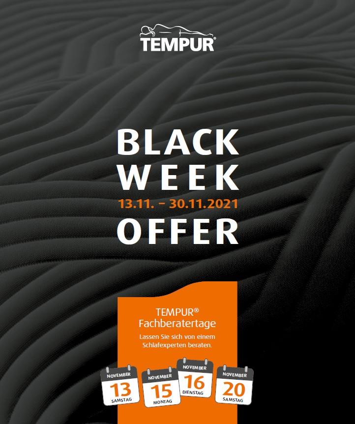 Tempur Black-Week-Offer 2021 - 1